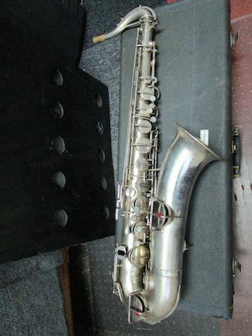 rare Martin Handcraft Silver Tenor Saxophone